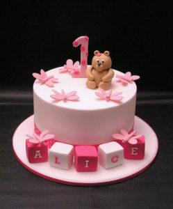cake-girl of 1yo